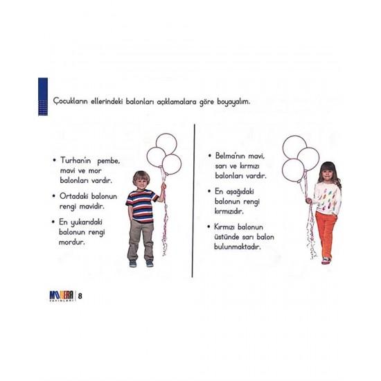 Monera Yayınları Dikkat ve Hafıza Geliştirme Programı 1. Sınıf